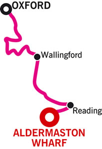 Oxford and return Cruising Route Map